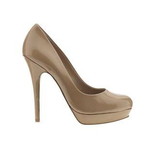 Arturo Chiang AT- ORINA nude platform heels sz 8.5